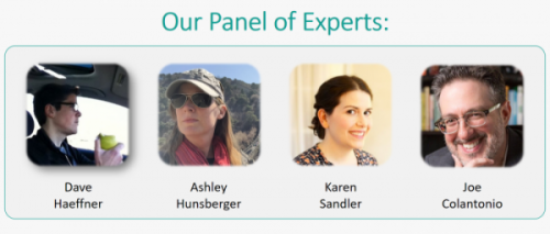 Selenium Expert Panel: Dave, Ashley, Karen, and Joe