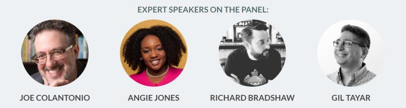 Expert Panel: Joe, Angie, Richard, and GIl