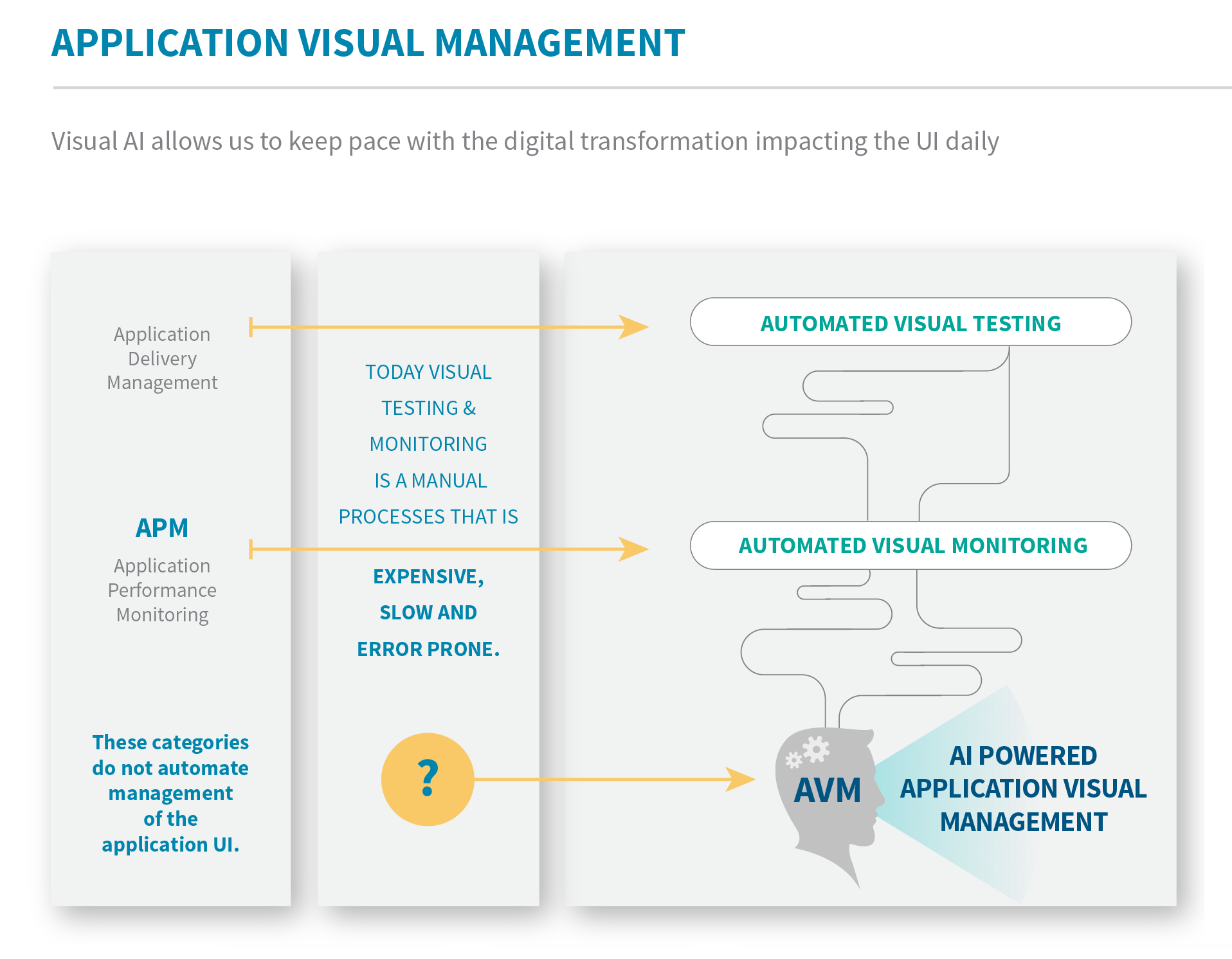 Application Visual Management (AVM)