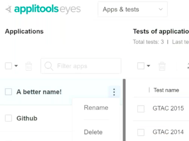 How to Track Your Visual UI Test Environment and History