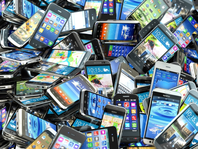 Keep Calm and Pile Your Phones