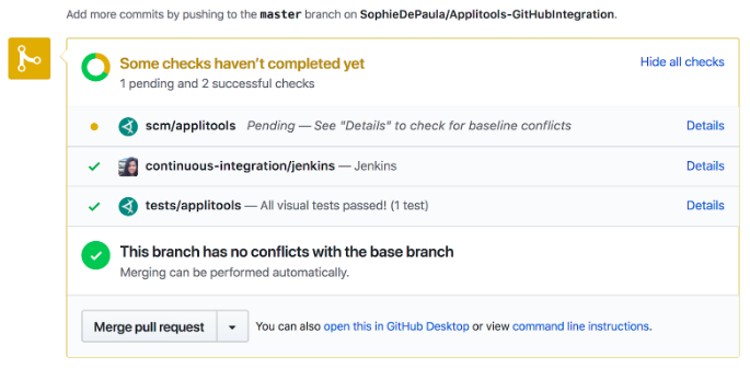 How to update Jenkins build status in GitHub pull requests [Step-by