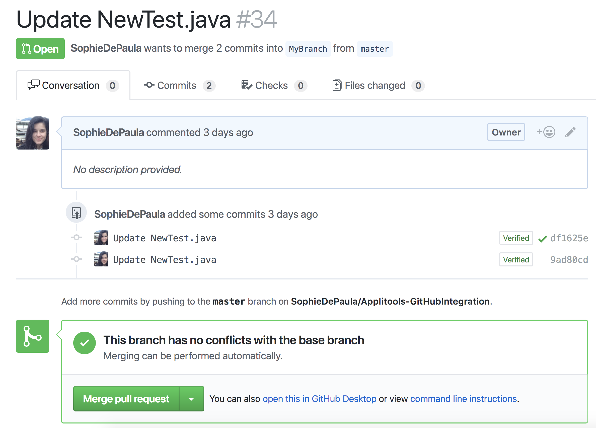 How to update Jenkins build status in GitHub pull requests