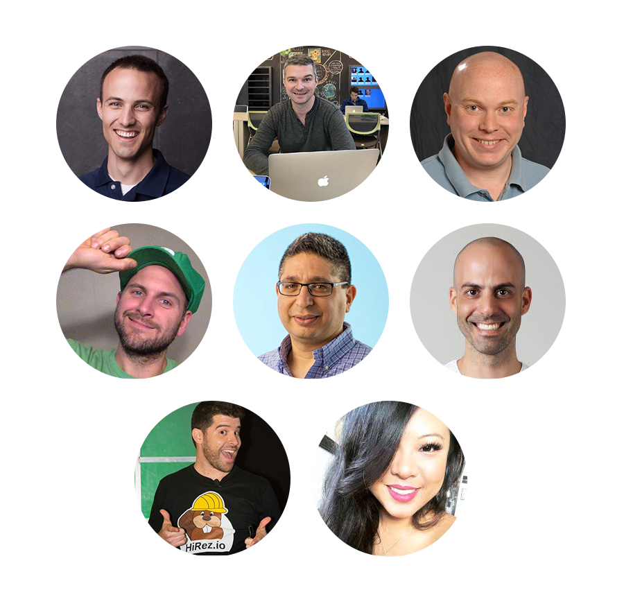 Speaker lineup for Applitools State of Testing 2019 webinar