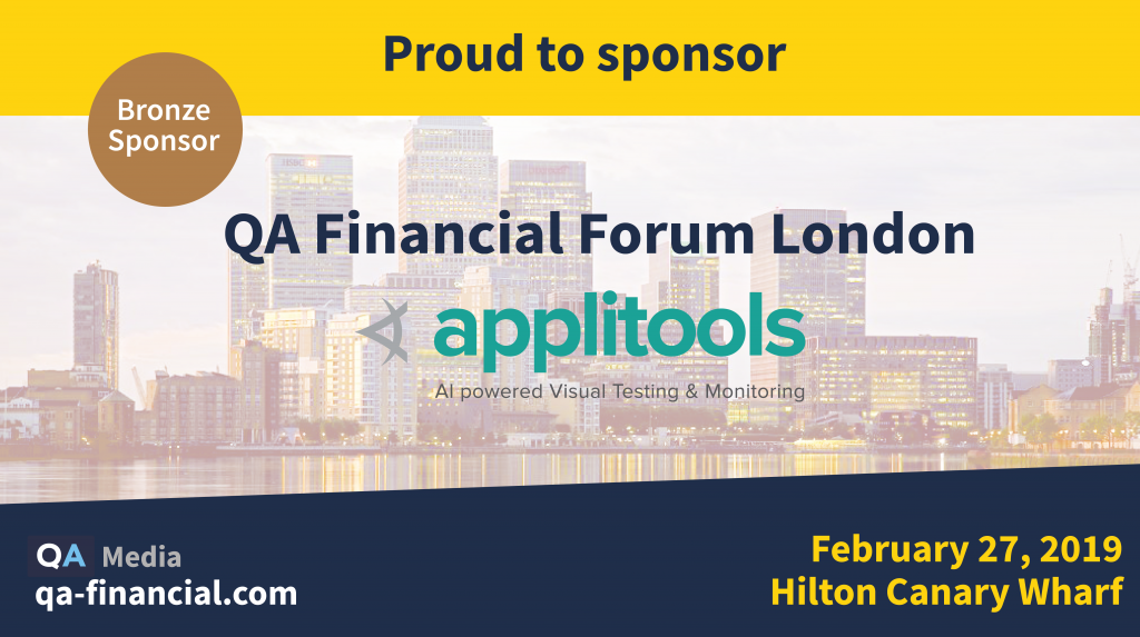 QA Financial Forum - London 2019