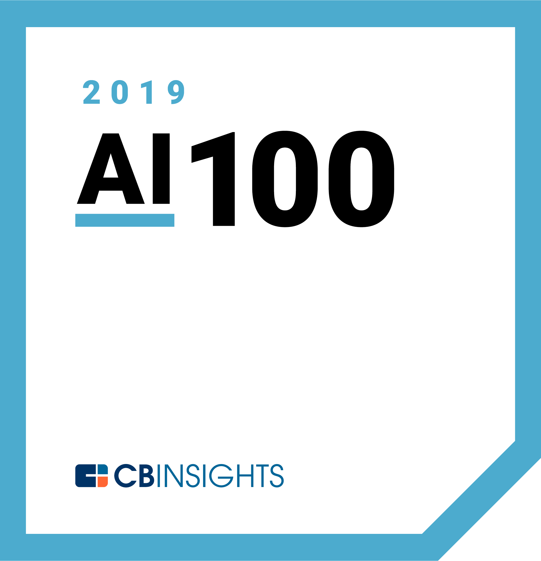 CB Insights AI 100 2019