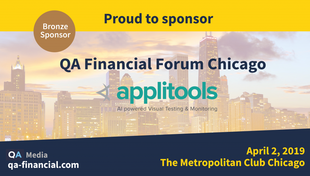 QA Financial Chicago 2019 - Applitools