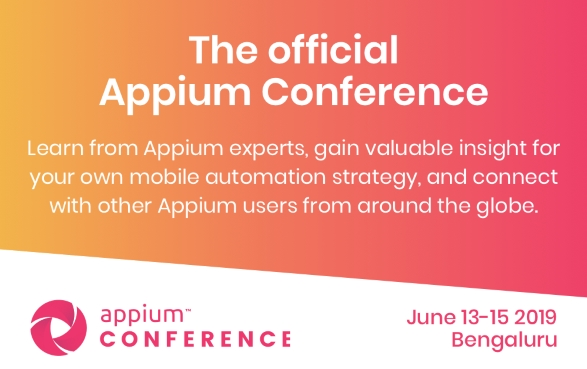 Appium Conference 2019 -- logo