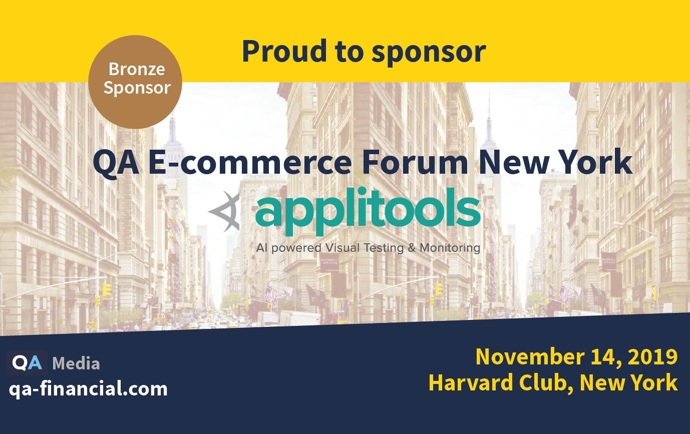 QA E-Commerce Forum New York 2019 - logo