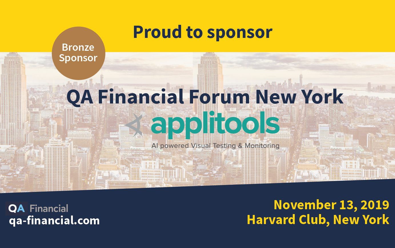 QA Financial Forum New York 2019 - logo