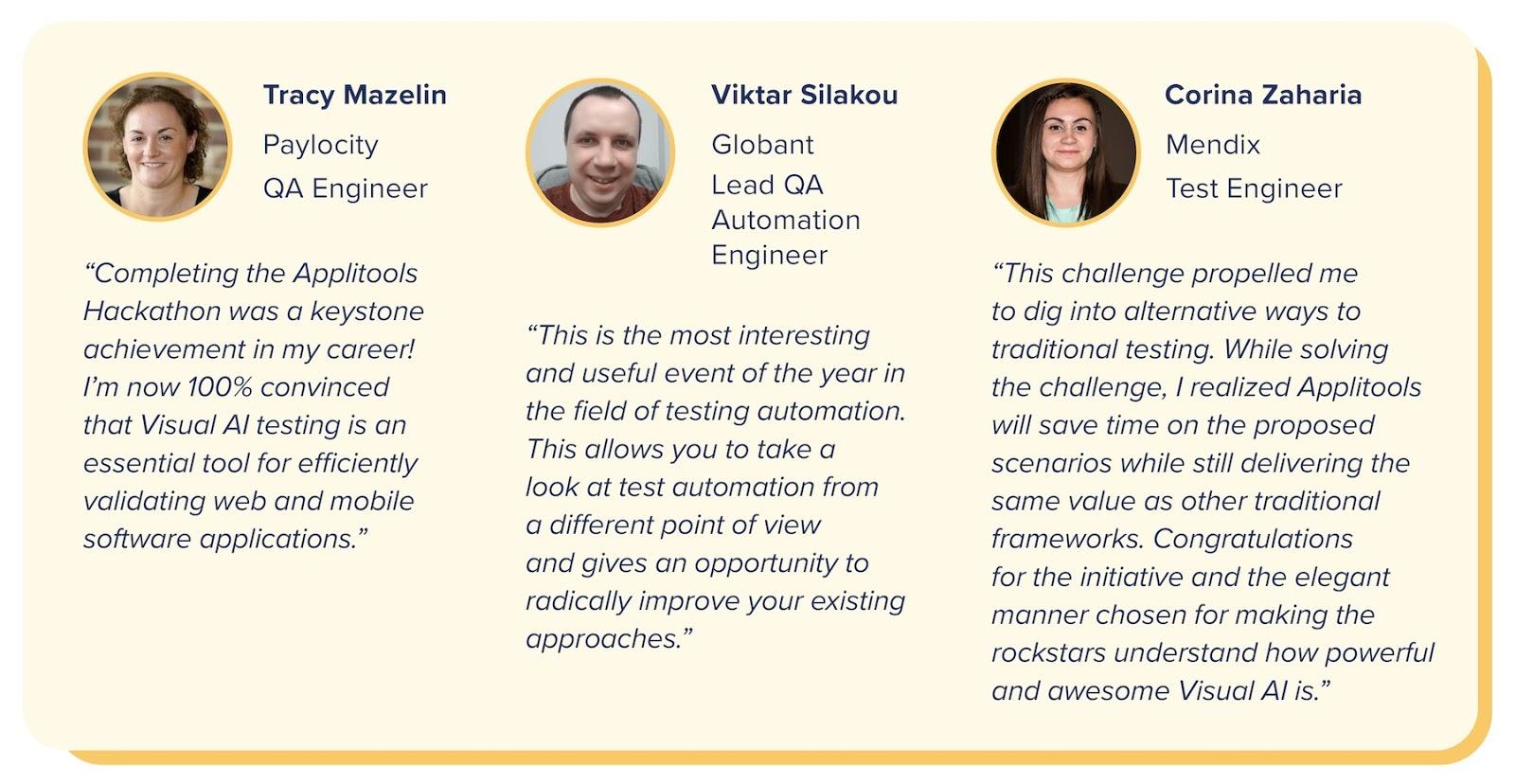 VisualAI Impact Three Quotes