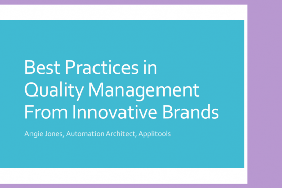 Successful Test Automation Practices from Innovative Brands - Angie Jones