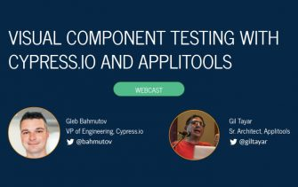 Visual Component Testing with Cypress.io and Applitools