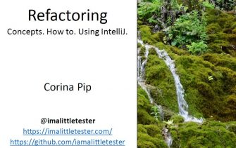 Refactoring Made Easy with IntelliJ - Corina Pip
