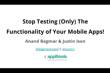 Mobile Testing webinar