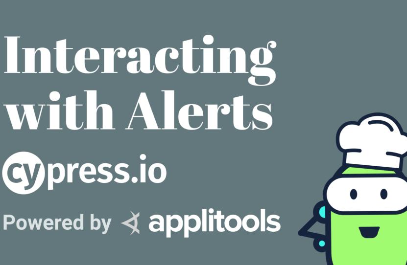 Cypress - Alerts