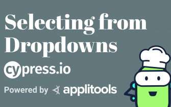 Cypress - Select from Dropdown
