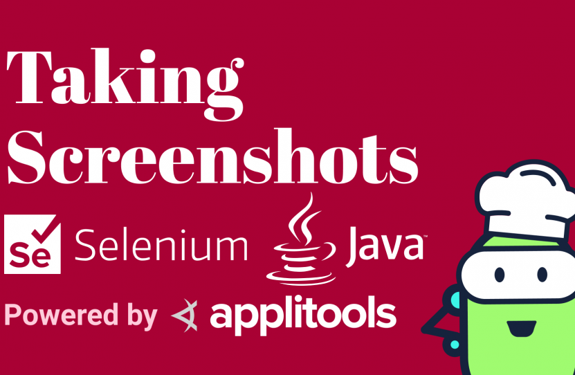 Selenium Java Take Screenshots